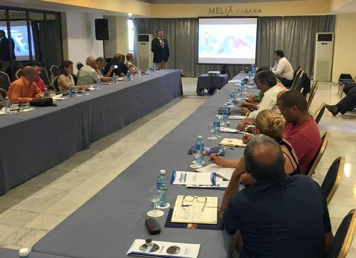 Visita comercial a Cuba