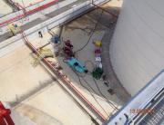 Limpieza química en tanques